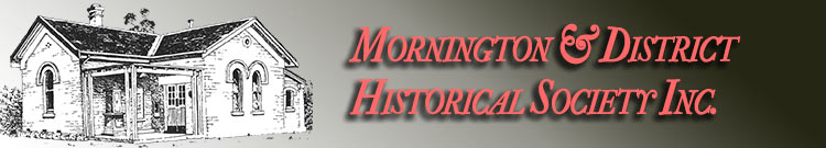 Mornington and District Historical Society logo
